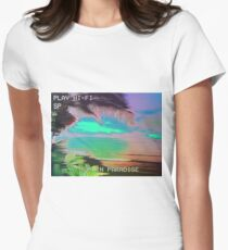 I'm in Paradise  Women's Fitted T-Shirt