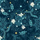 Dark floral delight by camcreativedk