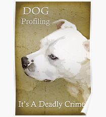 Dog Profiling Poster