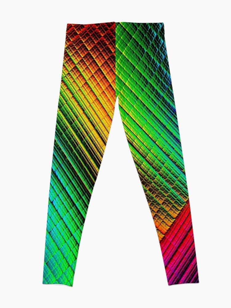 Alternate view of Textured Rainbow Leggings