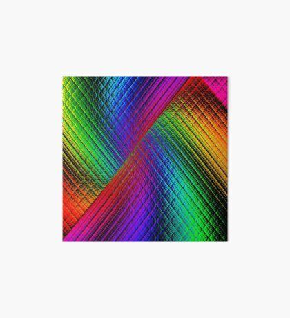 Textured Rainbow Art Board Print