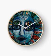 Flowerhead 3 Clock