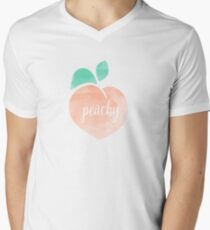 Peachy Men's V-Neck T-Shirt