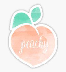 Pfirsichfarben Sticker