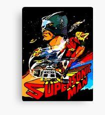supersonic man Canvas Print