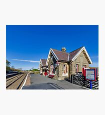 Horton in Ribblesdale Station Photographic Print