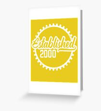Established 2000  Greeting Card