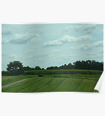 Amish Headed Home Poster