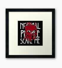 normal quotes Framed Print
