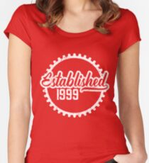 Established 1999 Women's Fitted Scoop T-Shirt
