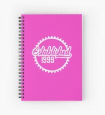 Established 1999 Spiral Notebook