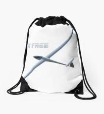 Be free like a bird Drawstring Bag