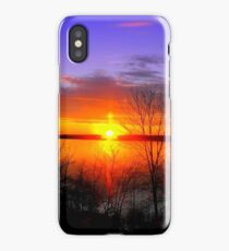 Sunset Over Jordan iPhone Case