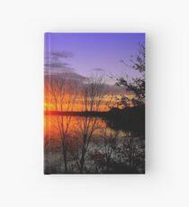 Sunset Over Jordan Hardcover Journal