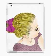 BLOND GIRL iPad Case/Skin
