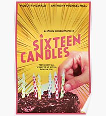 Sixteen Candles Movie Poster Poster