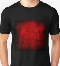Deep red,grunge,damasks,vintage,pattern,rustic,grunge,chic T-Shirt