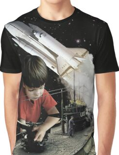 Small kids with big toys Graphic T-Shirt