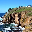 Lands End, Cornwall by Lissywitch