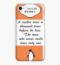 Penguin Classic cover quote iPhone Case/Skin