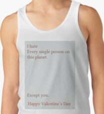 Except You Tank Top