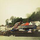 Fowey, Cornwall by Lissywitch