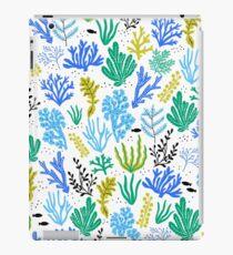 Meereslebewesen, Meerespflanzeabbildung iPad-Hülle & Klebefolie
