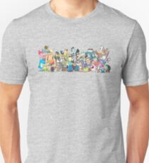 Character Line-Up Unisex T-Shirt