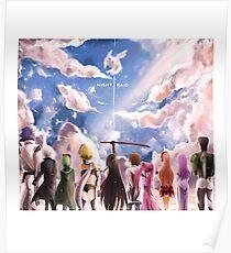 Akame Ga Kill - NightRaid Poster