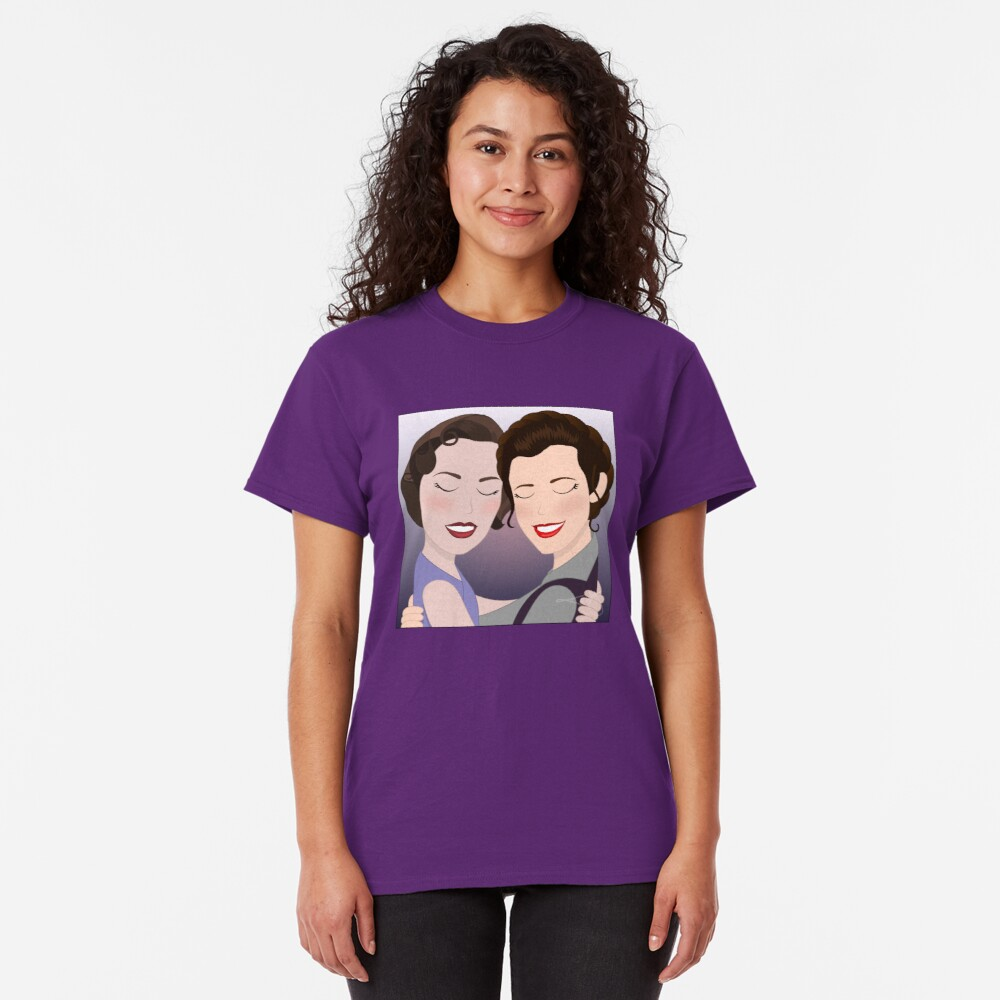 Kathy and Leia Classic T-Shirt