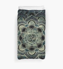 Sacred Geometry for your daily Life- GALACTIC OHM Duvet Cover