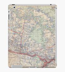 Canada Antique Maps iPad Case/Skin