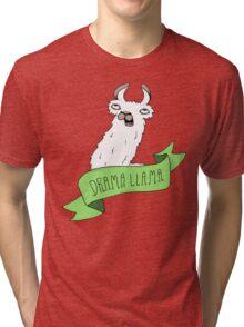 Drama Llama Tri-blend T-Shirt