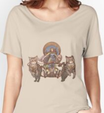 Freya Driving Her Cat Chariot Women's Relaxed Fit T-Shirt