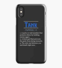 Definition of Tank iPhone Case