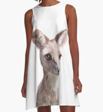 Little Kangaroo A-Line Dress