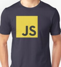 javascript js programming language logo T-Shirt