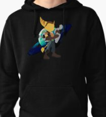 Ratchet and Clank Planetary Design Pullover Hoodie