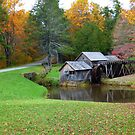 Mabry Mill in Fall by SHickman