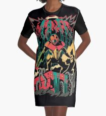 Wake the Mother Graphic T-Shirt Dress