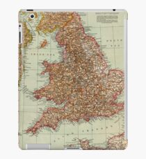 England and Wales Antique Maps iPad Case/Skin