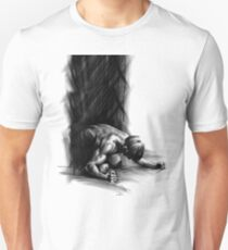 Frustration - Conté Drawing (Emotions) T-Shirt