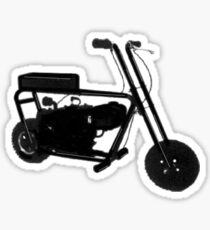 Mini bike life Sticker