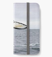 Waving Whale's Tail iPhone Wallet/Case/Skin