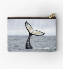 Waving Whale's Tail Studio Pouch
