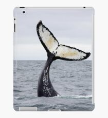 Waving Whale's Tail iPad Case/Skin