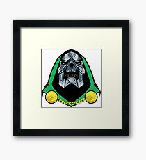 Dr. Doom / Skeletor Mashup Framed Print