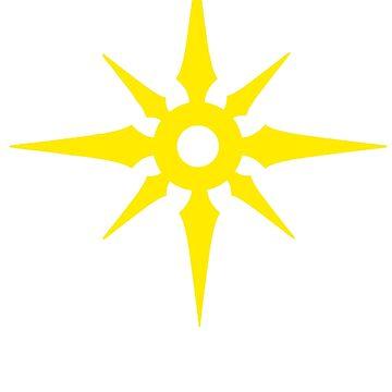 Leona's Sunburst Symbol by Bleepsy