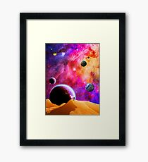 Space Solitude Framed Print