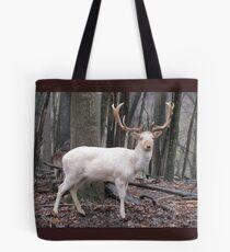 White Fallow Deer (Leucistic) Tote Bag
